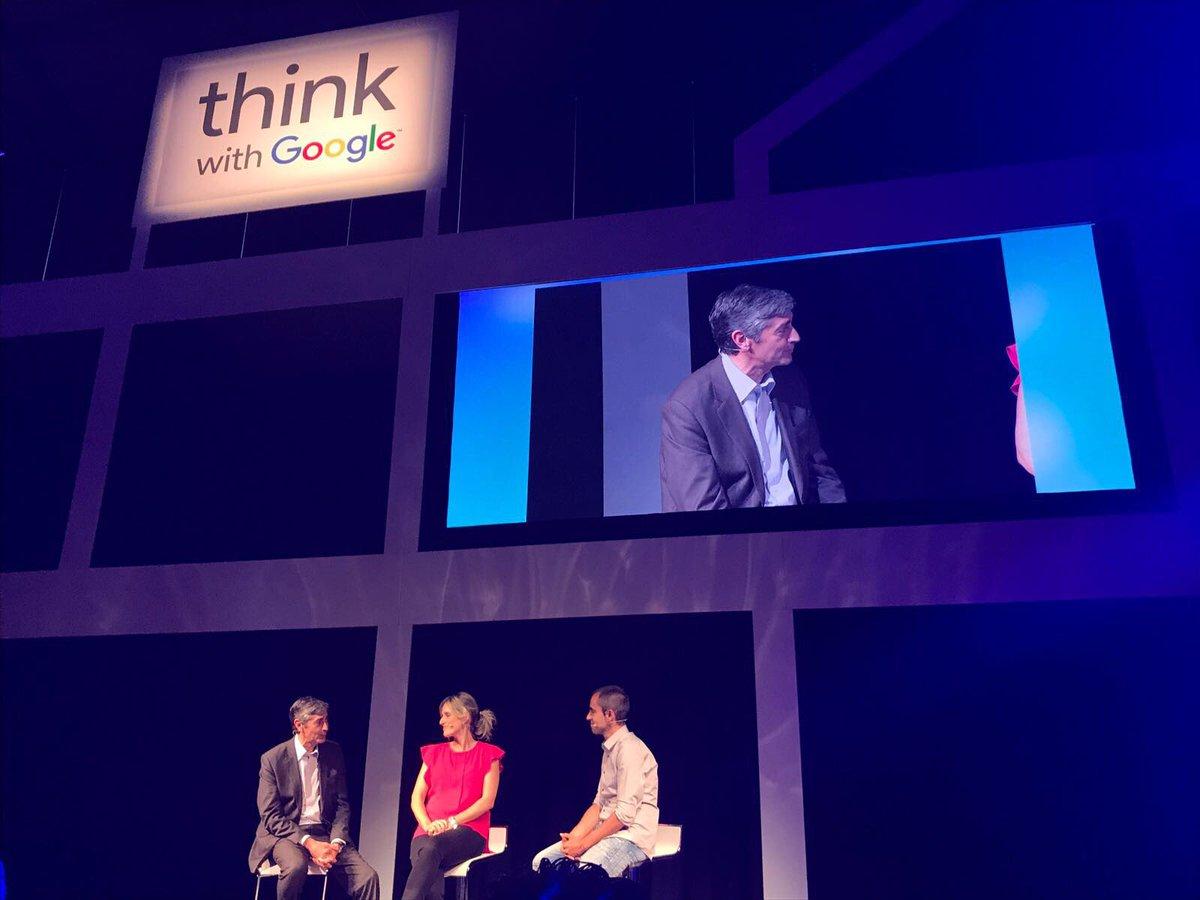 test Twitter Media - #MADThinkwithGoogle @crisbarranco y Paco Serrat hablan del uso de la data en la creatividad para generar resultados de negocio https://t.co/A37Bj5FPbu