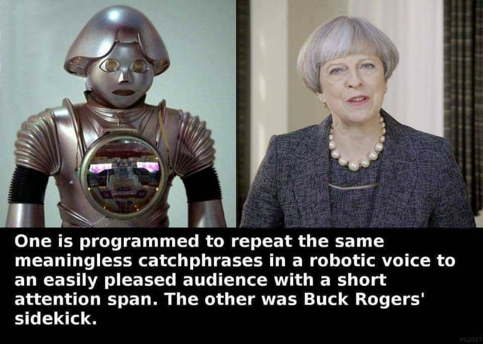 What S The Difference Between Theresa May And Twiki From