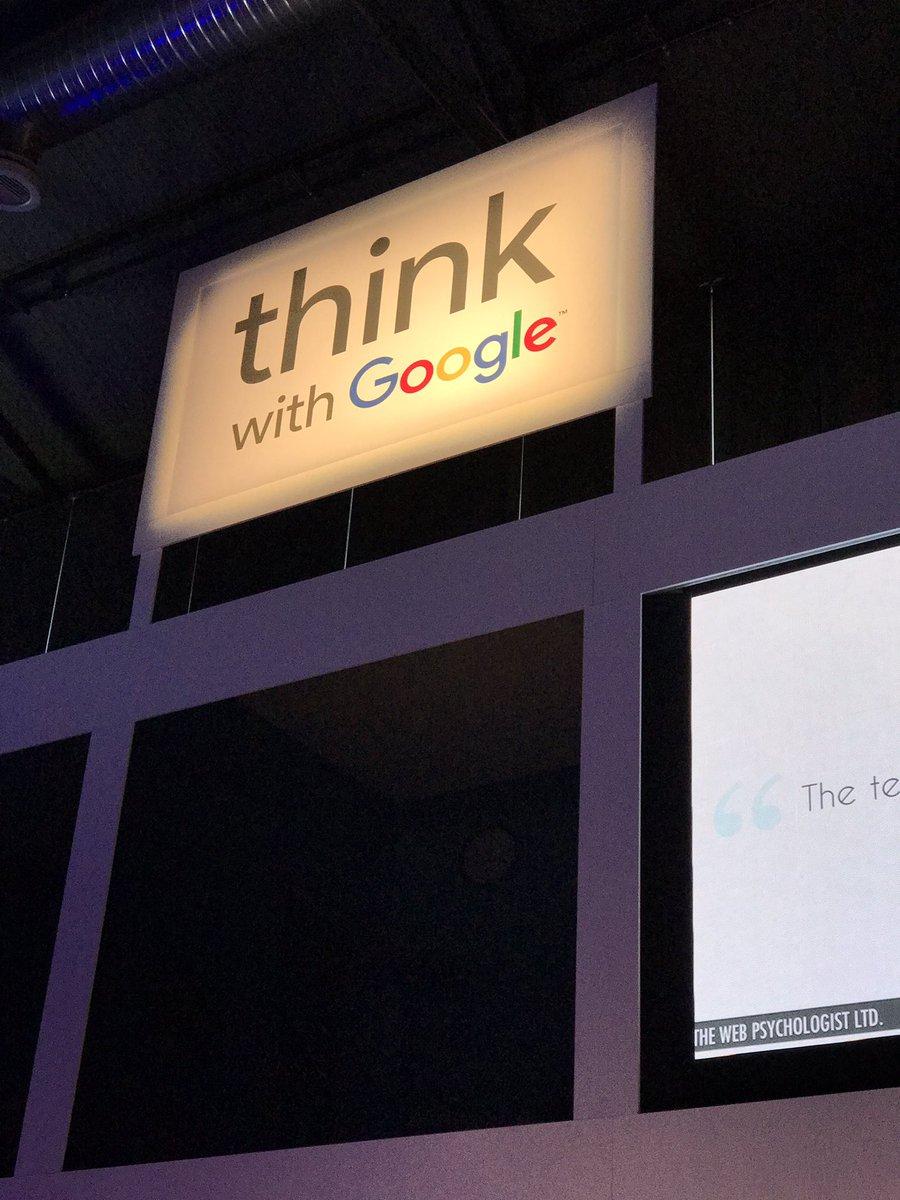 test Twitter Media - Arrancando Think with Google donde hoy hablamos sobre data y creatividad https://t.co/MDNB2xkkrs