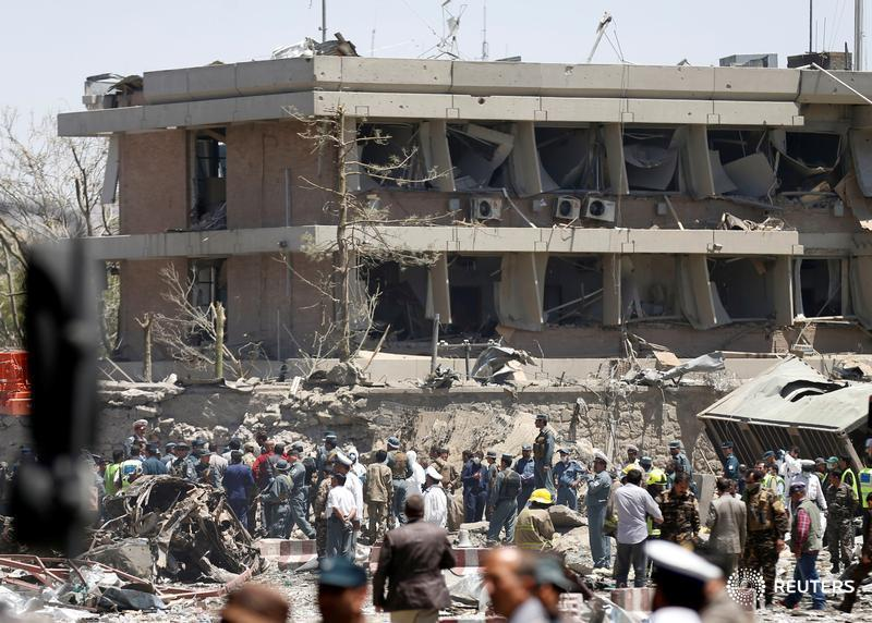 Taliban deny responsibility for Kabul blast