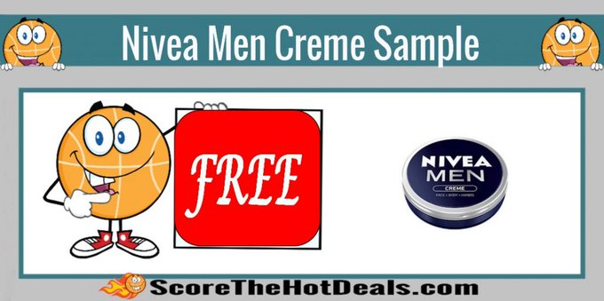 **FREE** Nivea Men Creme Sample!free freesample freebie freebies freesamples