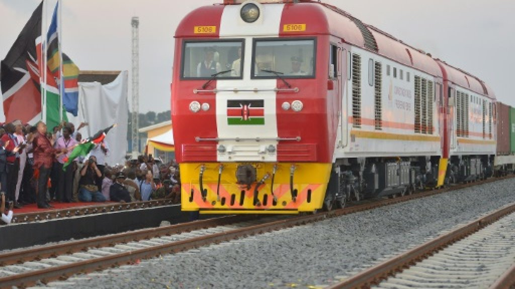 Eyeing growth boost, Kenya opens Chinese-built railway