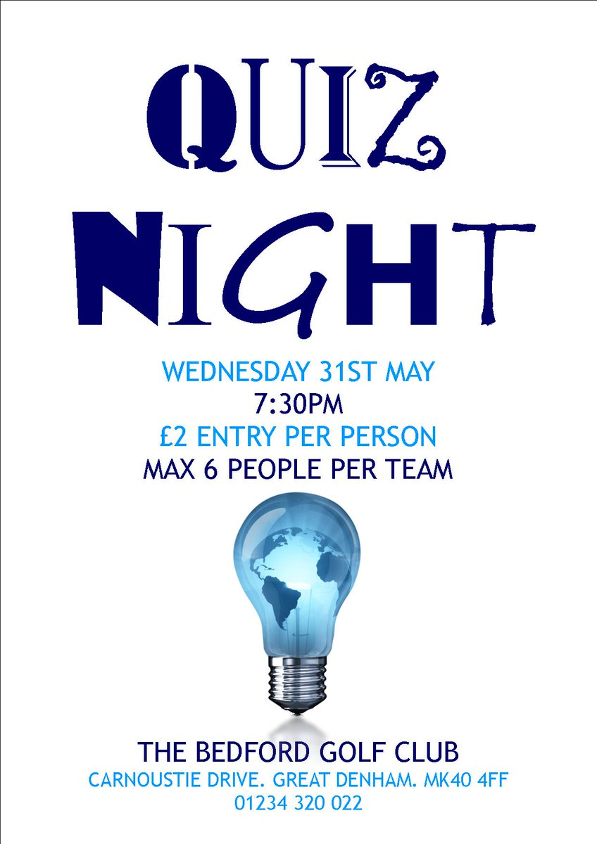 test Twitter Media - Get a team together and join us tonight for #QuizNight! Entry £2 per person, max. of 6 per team. We look forward to seeing you this eve! https://t.co/mTr5J0U2VQ