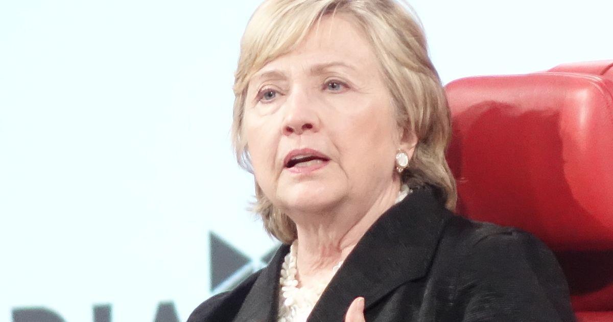 Hillary Clinton — tech has to fix fake news
