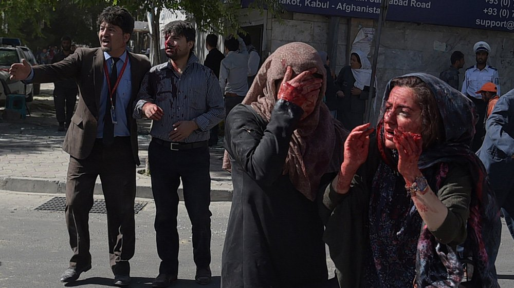 Kabul blast, that killed at least 80 people, felt like an earthquake, witnesses say