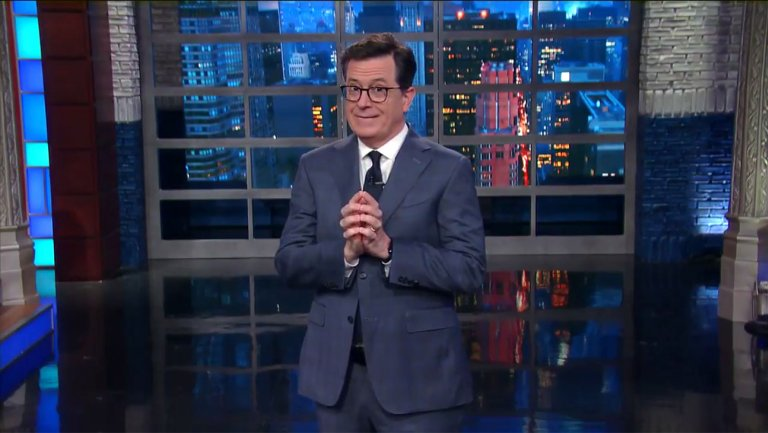 CBS tells FCC that Stephen Colbert's Trump jokes weren't indecent nor obscene