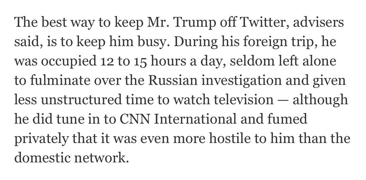 """""""Keep him busy … seldom left alone … given less unstructured time to watch television"""" https://t.co/CIUvEdGbhS https://t.co/rEYHwC9xjB"""