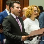Macedonia parliament votes in Social Democrat Zaev as PM