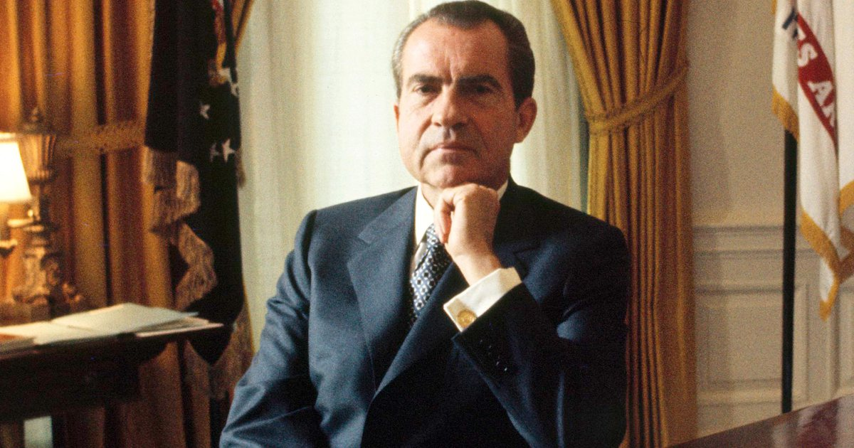 ABC's new Watergate documentary includes never-before-seen video of Nixon aides: https