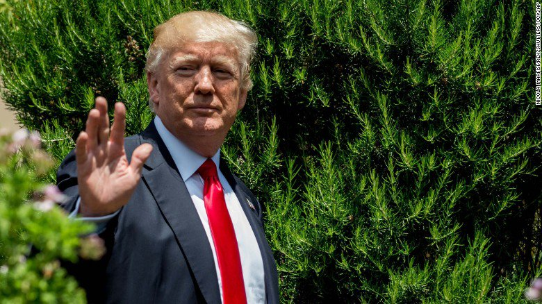 President Trump's disbelief in climate science looms over the Paris agreement decision