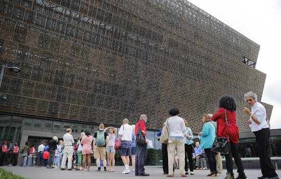 Noose found in exhibit at African American history museum in Washington