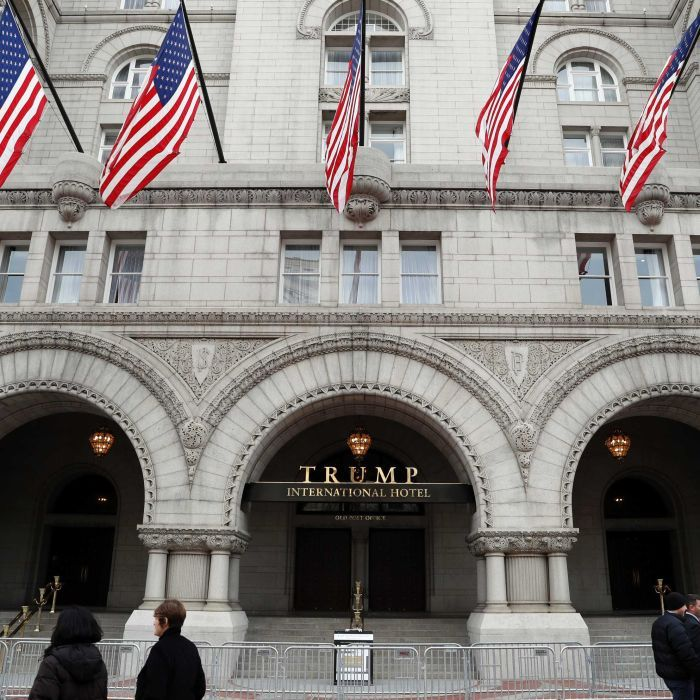 Man arrested at Trump's Washington hotel after assault rifle, ammo found in car