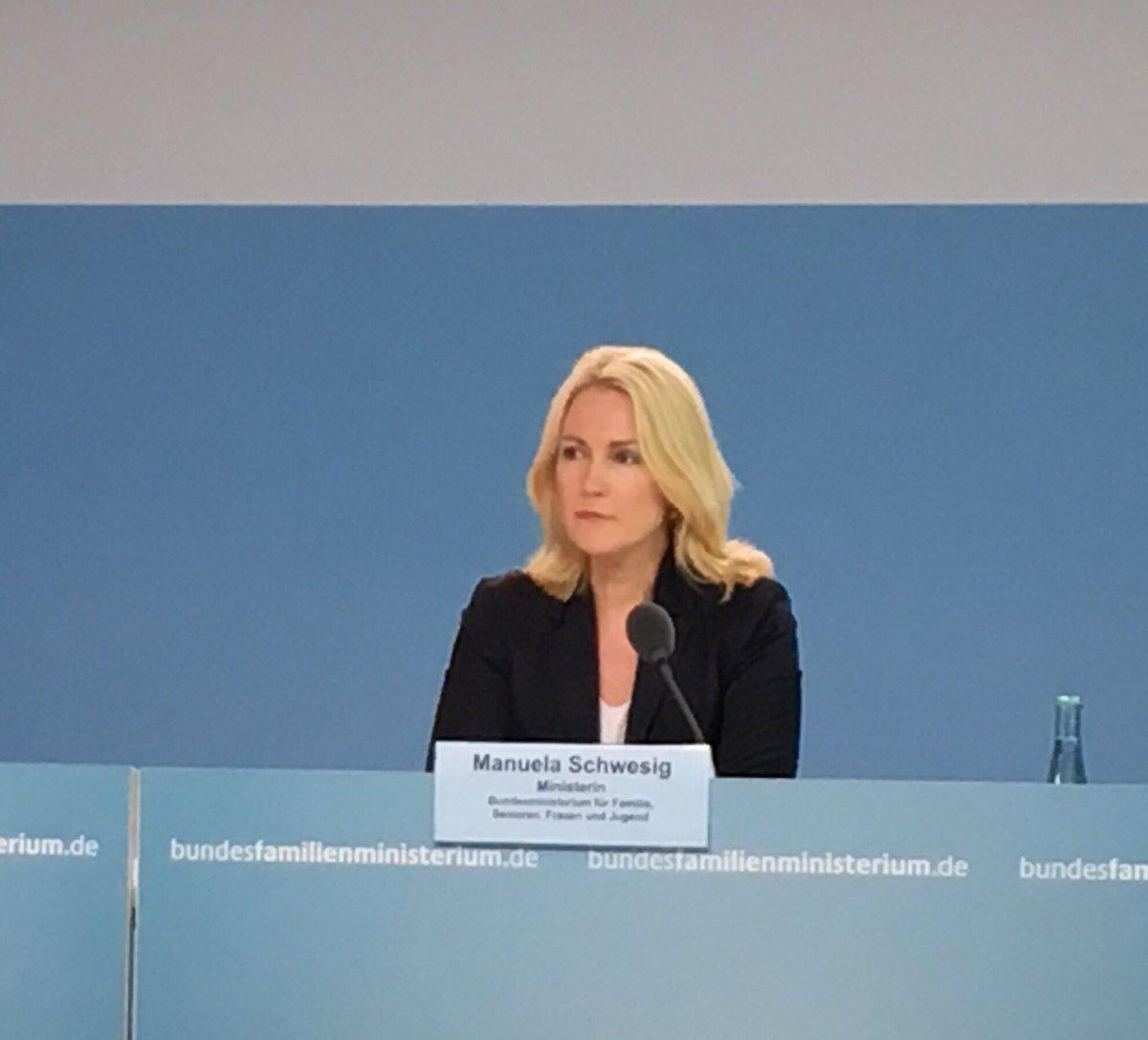 Last resort von Manuela #Schwesig als Familienministerin.