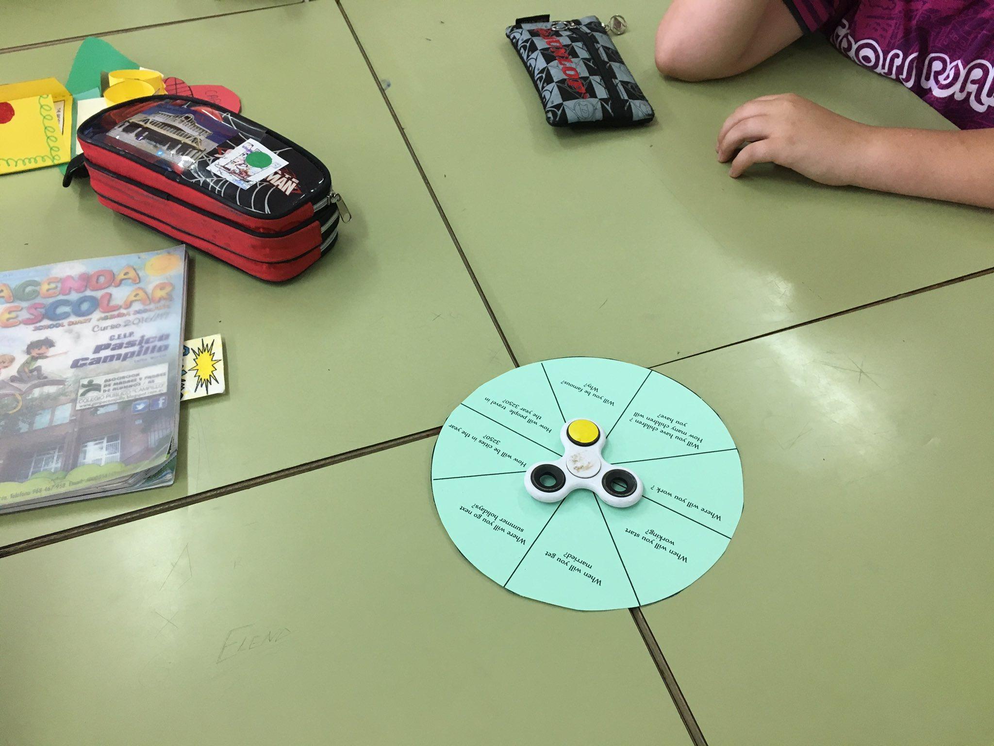 Predecimos nuestro futuro con spinners. https://t.co/GZbw400pTL