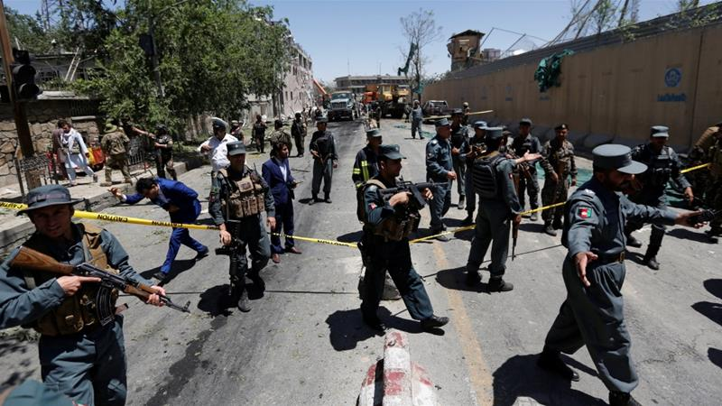 Afghanistan blames Pakistan and Taliban for Kabul blast that killed at least 90 people