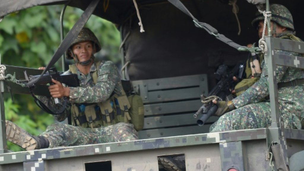 Philippine military airstrikes kill 10 troops: defence chief