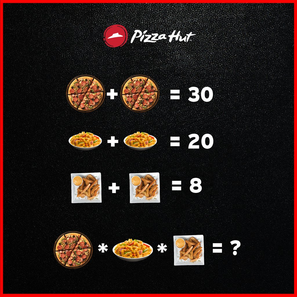 Your Thursday riddle is ready Shoot your answers now ThinkPizzaThinkPizzaHut RiddleDay https t.co C8ZYXETi7f