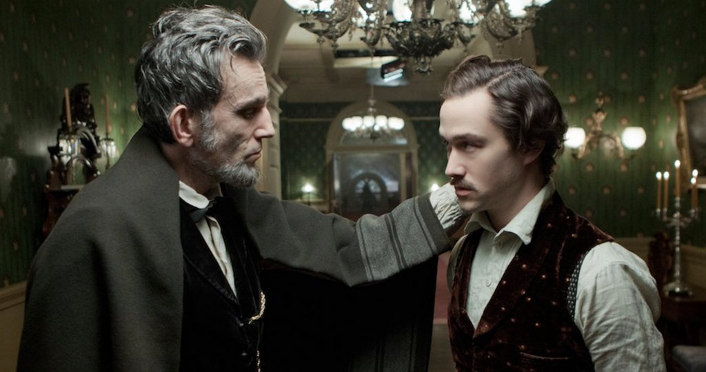 Me and Daniel Day-Lewis in Steven Spielberg's