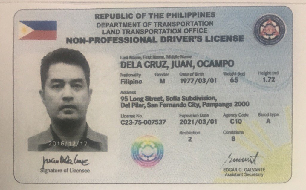 This Is Driver's License Five-year Lto Will New Look Look How August The