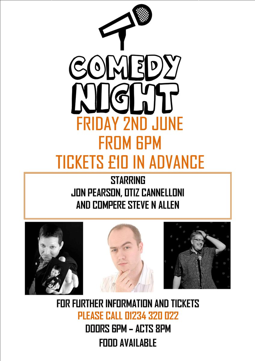 test Twitter Media - We still have tickets available for last minute plans for a fun Friday night!.  Call 01234 320 022 to get your tickets at £10 each. https://t.co/VlahA3X2Qq
