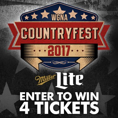 Countryfest 2017 Tickets Giveaway
