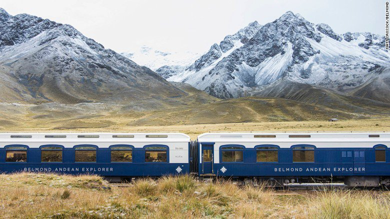 All aboard South America's first ever luxury sleeper train (via @CNNtravel)
