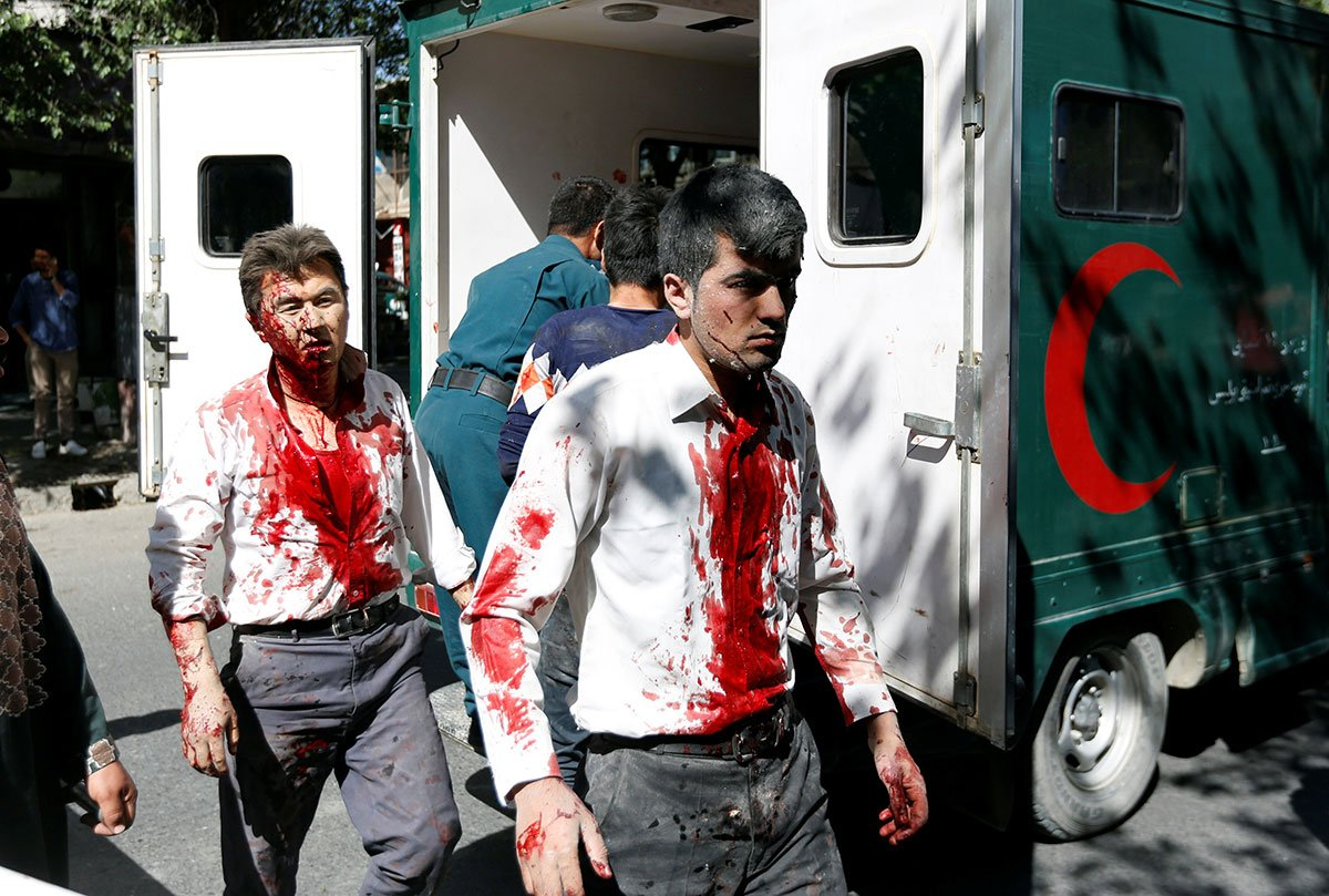 Afghanistan has suffered large attacks almost monthly since the beginning of 2017