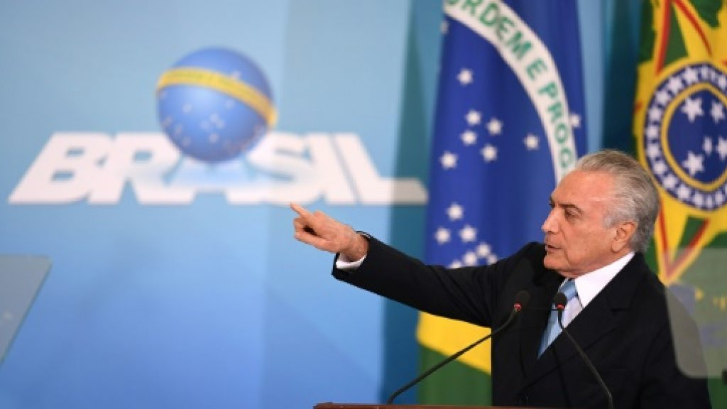 Brazil posts first economic growth in two years: official