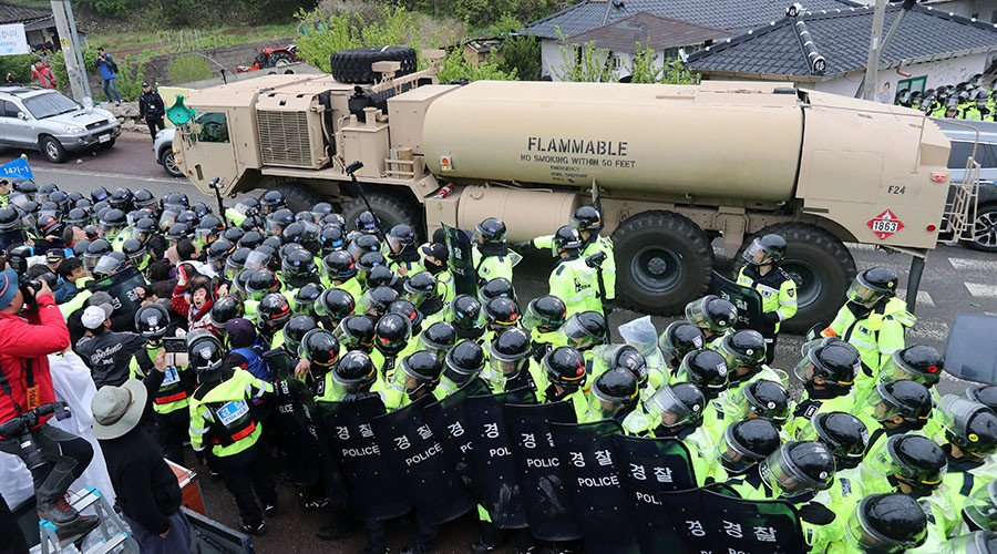 China urges US to pull THAADs out of South Korea after secretive deployment