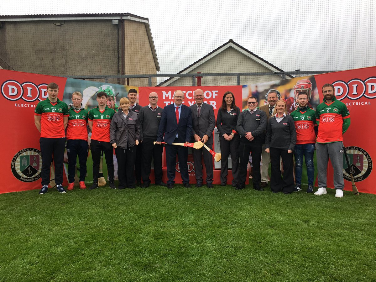 Proud to celebrate the sponsorship between DID Electrical and James Stephens GAA club! @VillageGAA #matchoftheyear https://t.co/4xwU8gdjFA