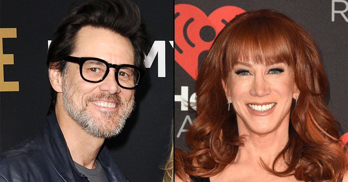 "Jim Carrey defends Kathy Griffin: ""Comedians are the last voice of truth"":"