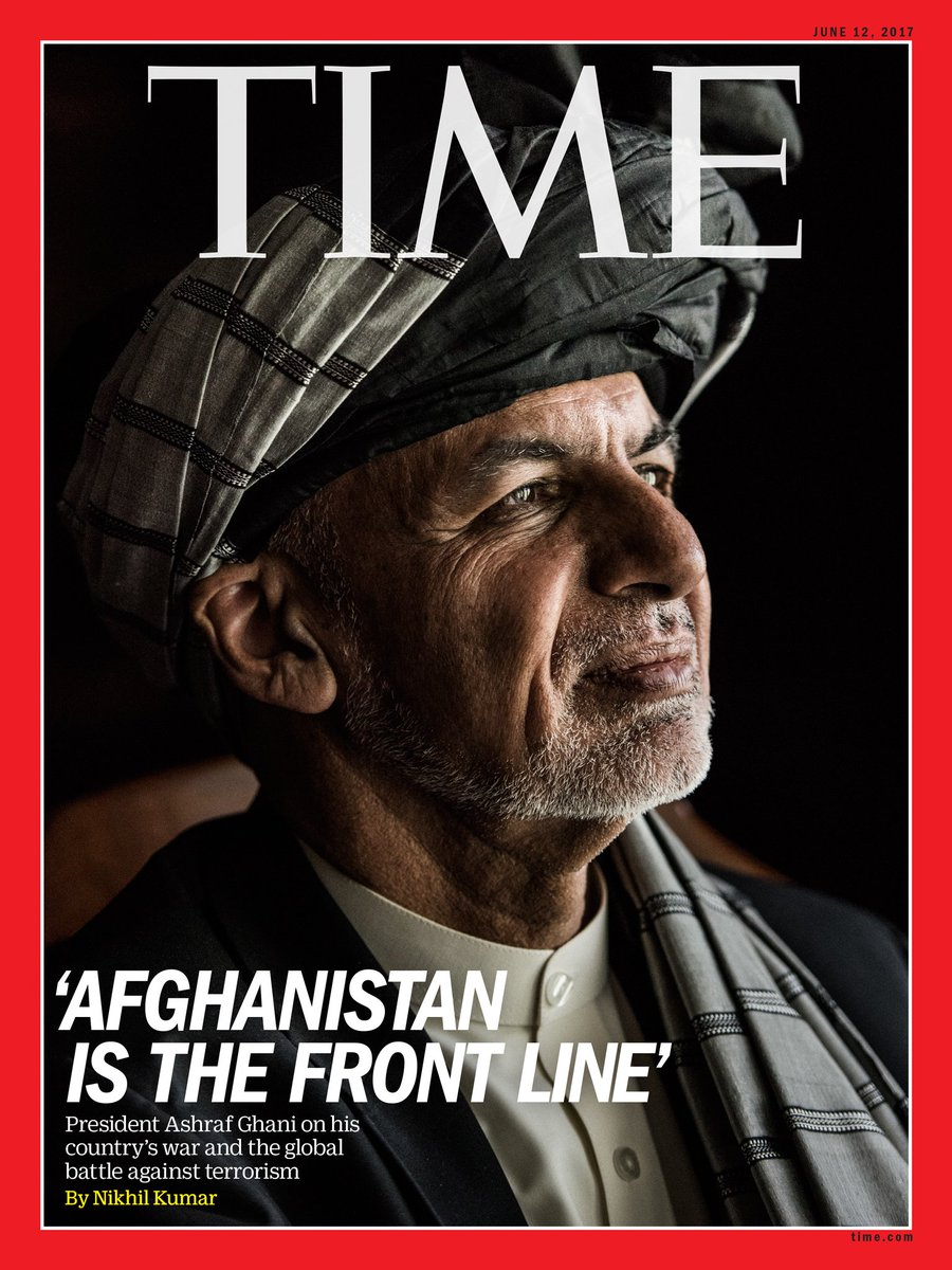"""This is the front line."" Why Ashraf Ghani's Afghanistan is the key to fighting terrorism"