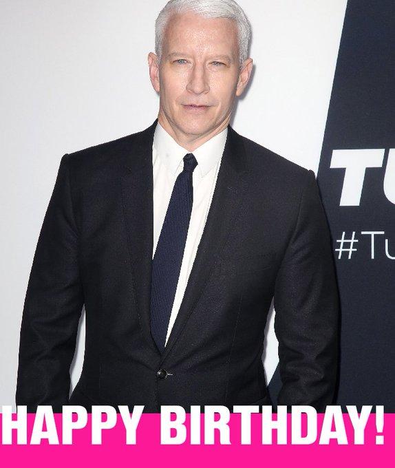 Happy Birthday Anderson Cooper!
