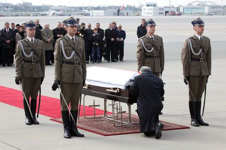 Poland find other body parts in coffin of president killed in 2010 crash - prosecutors