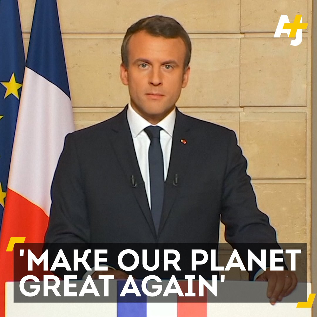 RT @ajplus: The French president had fightin' words for President Trump. https://t.co/9LZCps0lRG
