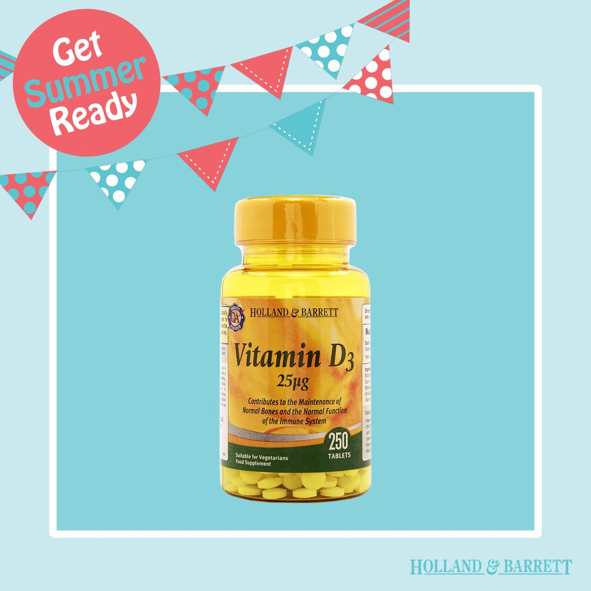 Make sure you're still getting your hit of Vit D while keeping protected from the sun! https://t.co/HDPOH1I9aD