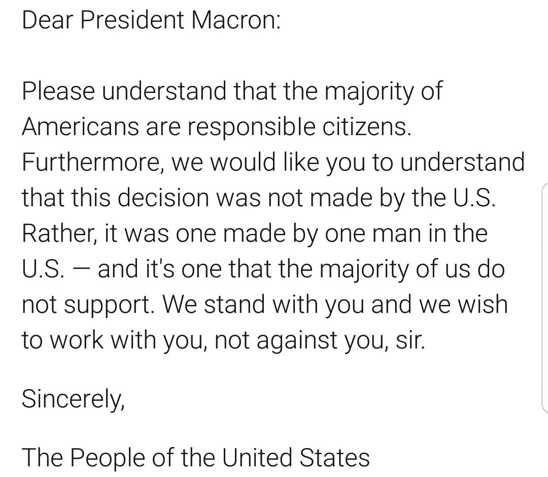 @EmmanuelMacron A brief note for you, Mr. President. https://t.co/tL4HGjYawe