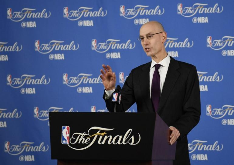 NBA-Commissioner Silver 'frustrated' by lack of Chinese players
