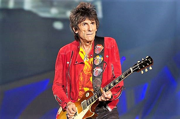 Happy 70th birthday (Rolling Stone) Ron Wood! It\s Only Rock and Roll, But I Like it.