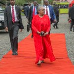 Video surfaces of First Lady Margaret Kenyatta dancing in the SGR train from Mombasa