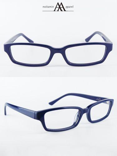 ノイタミナアパレル【残響のテロル】ナインメガネナインの着用するメガネを再現👓✨フレーム形状のシャープさ、ブルーのカラーリ