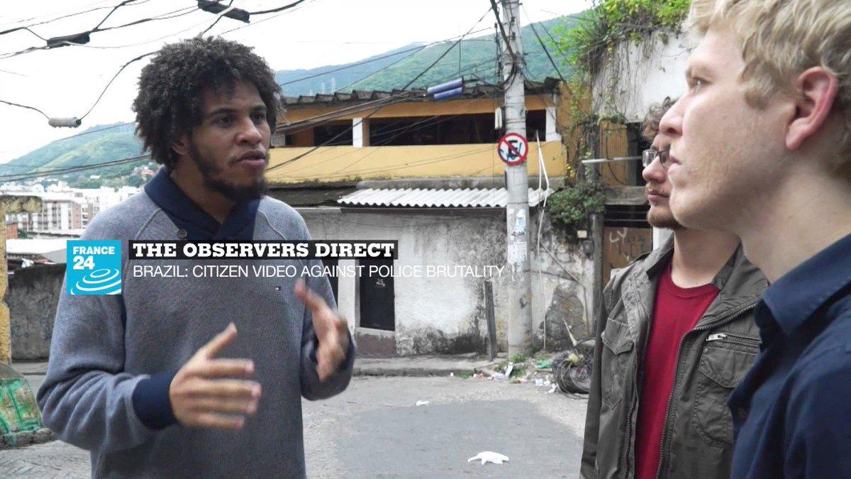?? The Observers Direct : Brazil,citizen video againstpolice brutality