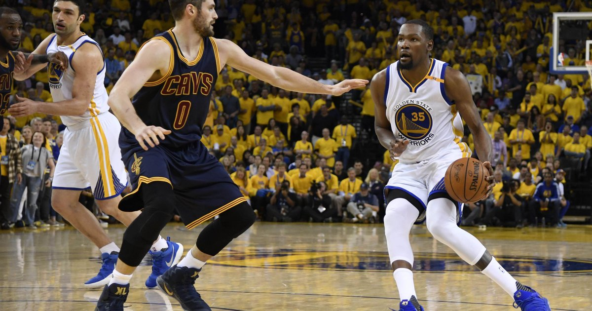 Jerry West: Warriors' Kevin Durant 'other-worldly' in NBA Finals Game 1 win
