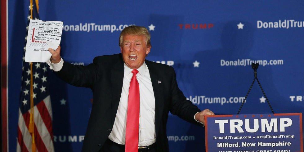 Trump Just Working Through List Marked 'Undo Shit Obama Did' https://t.co/Izy7RrkQsD https://t.co/SGWXn8BbN4
