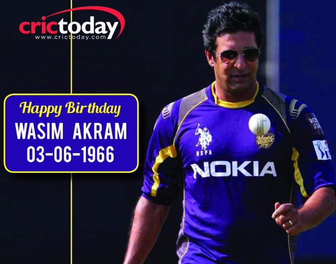 Happy Birthday Wasim Akram