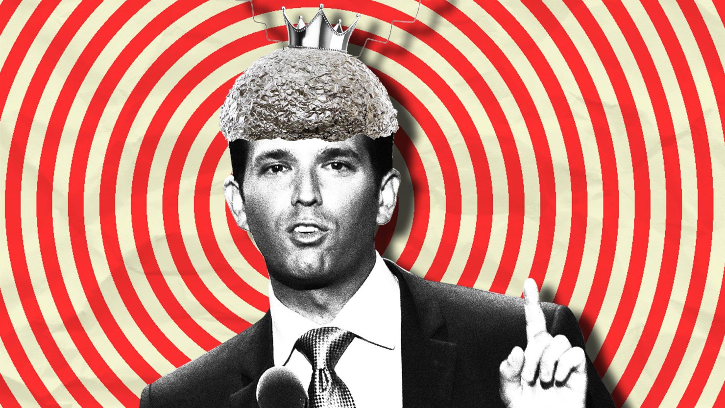 Donald Trump Jr. is a sucker for a good conspiracy theory—or any theory, really. https://t.co/p2XLs9ikHH https://t.co/axg7RedoDF
