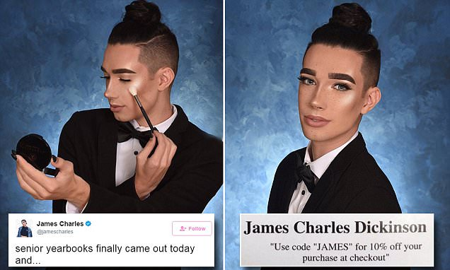 Coverboy james charles just went viral again with his sassy af