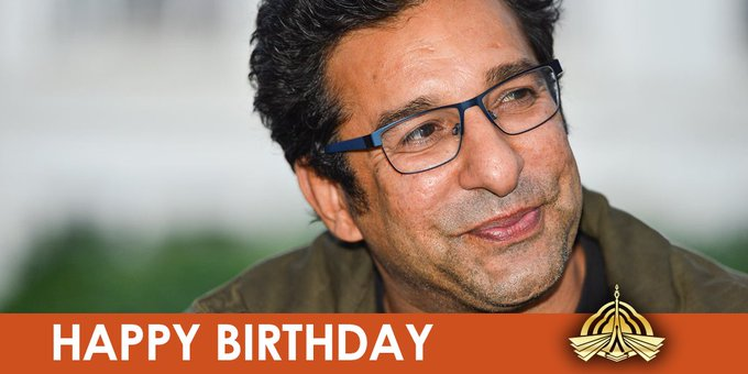 Happy Birthday to one of the finest bowlers in history, Wasim Akram!