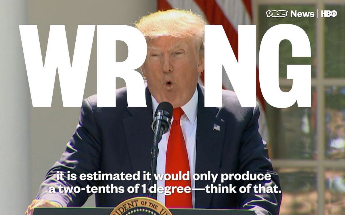 RT @vicenews: When Trump did talk about the Paris agreement, he was almost entirely wrong   (via @HBO) https://t.co/arpMe1ZDwk