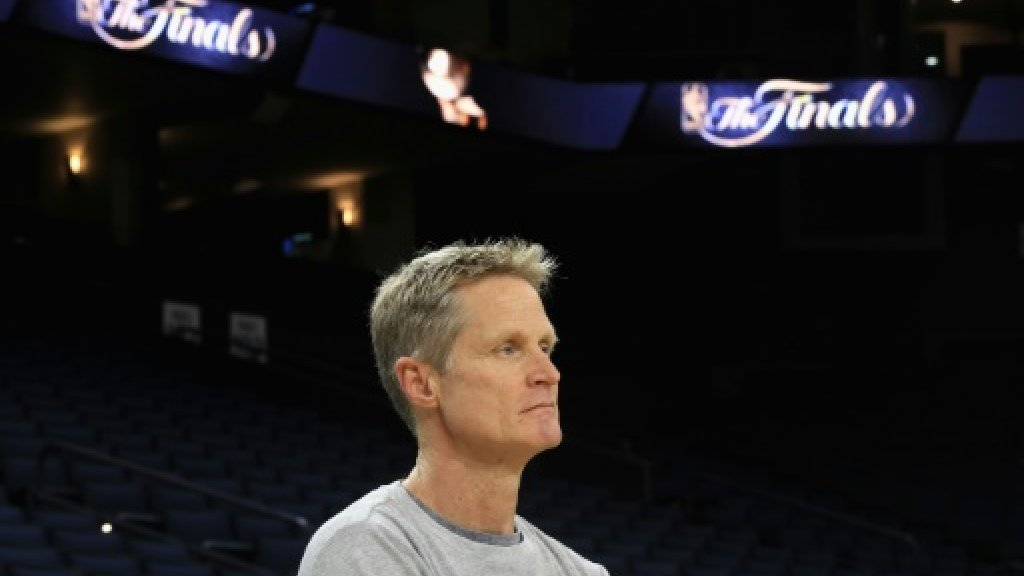 Kerr comeback possible but Brown coaching NBA Warriors for now